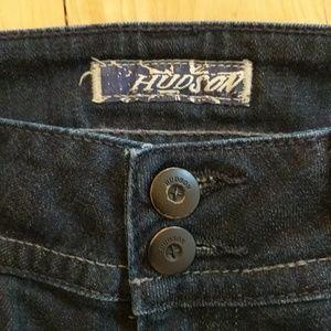 Hudson Jeans Jeans - Hudson Dark Wash Signature Bootcut Jeans